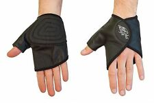Wheelchair Gloves Leather Ultra Grip Quad Gloves Easy Open Gator Style