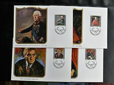 TIMBRES DU LIECHTENSTEIN : 1984 CARTES MAXIMUM TABLEAUX-  TBE