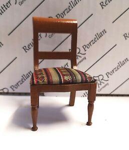 1/12th Scale Dolls House Biedermeier Chair by Reutter Porzellan.