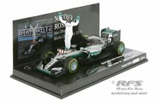 MERCEDES f1 w07 ibrido Rosberg formula 1 CHAMPION 2016 1:43 Minichamps 417160906