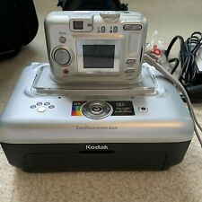 Kodak EasyShare CX7525 5.0MP Digital Camera - Silver & EasyShare printer dock.