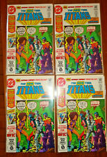 Lot of (4) - NEW TEEN TITANS #16 - NM - 1st CAPTAIN CARROT - KEY - FREE PRIORITY