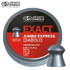 JSB Exact Jumbo Express Air Rifle Pellets .22 Air pistolet munitions boîtes de 500