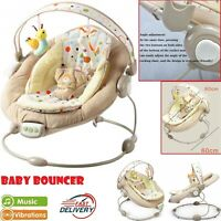 Baby Bouncer Swing Automatic Baby Vibrating Chair Musical Rocking Chair Electric