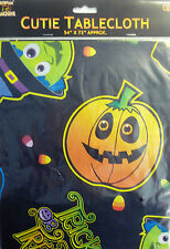 Halloween Scream Machine Witch, Pumpkin, Monster Party Plastic Table Cover