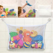 Kids Baby Bath Time Toy Suction Cup Storage Bag Mesh Bath Organiser Net #US