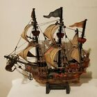 Antique Santa Rogge 1600 Spanish Naval War Ship Model