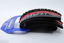 Panaracer Fire XC Pro Tubeless Compatible 26 x 2.1 Black/Red Mountain Bike Tire