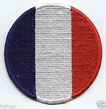 FRANCE ROUND FLAG PATCH - FLG04