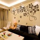 Vine farfalla da Parete Adesivi Murali Sticker Stanza Decorazione DIY Art Vine
