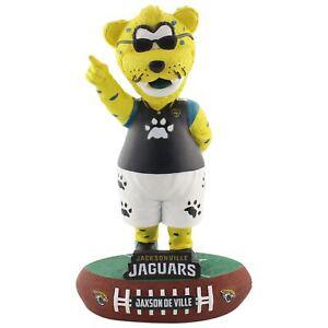 Jacksonville Jaguars Mascot Jaxson de Ville Baller Bobblehead NFL