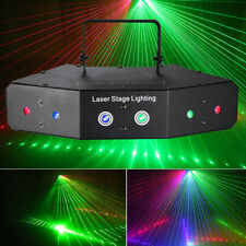 Quality Sound Active Led Rgb Stage Lights Laser Beam Dmx 512 Disco Party Club