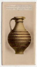 Ancient Roman Vase  Pottery Ceramic 1920s Trade Ad Card