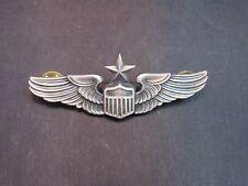 "WWII ERA 3"" US ARMY PILOT AVIATOR WING PIN BACK (VANGUARD NY)"