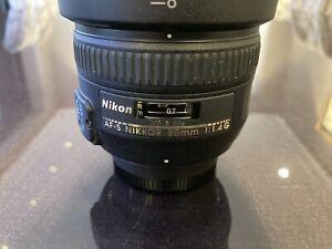 Nikon Nikkor AF-S 50mm f1.8G