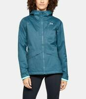 NEW UNDER ARMOUR SIENNA JACKET Women's 3-in-1 Coldgear Infrared Static Blue