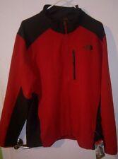 NWT Mens THE NORTH FACE Red Grey Apex Pneumatic Softshell Jacket Coat Sz XL/2XL