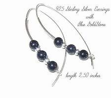 Clip - On Round Sterling Silver Fine Earrings