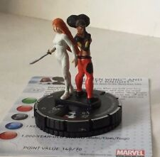 HeroClix Amazing Spider-Man  #044  COLLEEN WING AND MISTY KNIGHT  MARVEL SR