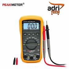 PEAKMETER MULTIMETRO VOLTOMETRO TESTER Digital Auto Range Multimeter AC DC