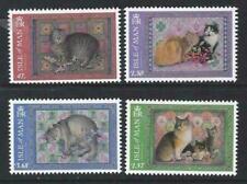 Isle of Man 2017.  Ivory Manx Cats SG2243/46 MNH.