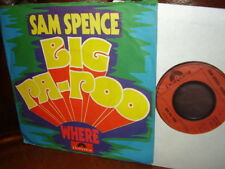Sam Spence, Big Pa-Poo, Where, Electronic, 1973, 7""