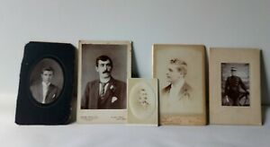 Collection of Victorian Gentlemen CDV Photo Cards