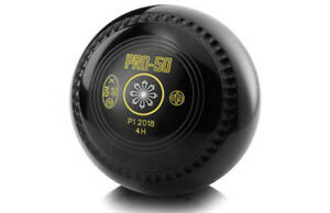 DRAKES PRIDE PRO-50 CHANNEL GRIP BLACK BOWLS AVAILABLE IN VARIOUS WEIGHTS