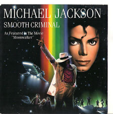 MICHAEL JACKSON - SMOOTH CRIMINAL - SOLO COPERTINA - ONLY COVER- EX