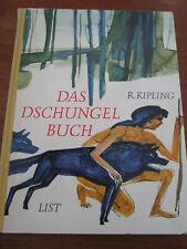 E424) ALTES KINDERBUCH DAS DSCHUNGELBUCH R.KIPLING/F.A.KOHLSAAT LIST VERLAG 1969