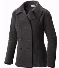 COLUMBIA Benton Springs Pea Coat  - Women M (Medium) Charcoal Heather NWT~FnF