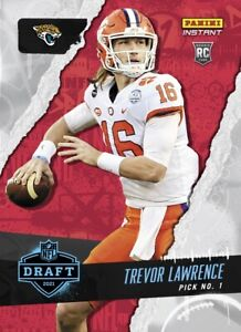 2021 Panini Instant Draft Night Trevor Lawrence PRESALE