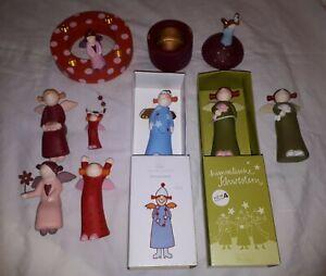 7  Himmlische Schwestern Charlotte 1 Dose 1  Kranz Räder  sehr gepflegt teils ne