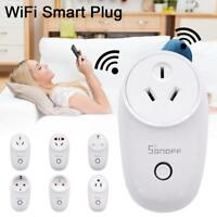 Sonoff S26 WIFI Smart Power Socket Plug Wireless Remote Timer Smart Home