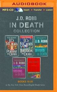 J D Robb In Death Collection 16 - 20 UNABRIDGED MP3-CD 52 Hours *NEW* FAST Ship!