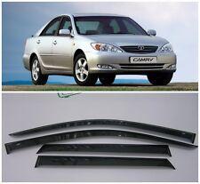 For Toyota Camry XV30 Sd 2002-2005 Side Window Visors Rain Guard Vent Deflectors