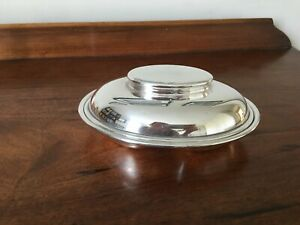 Elkington silver plated small covered serving dish