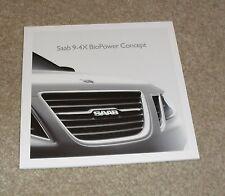 Saab 9-4X Biopower Concept Car Brochure 2008