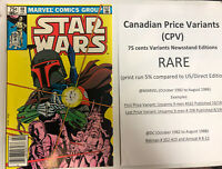 Star Wars (1983) # 68 (VF/NM) Canadian Price Variant ( CPV)