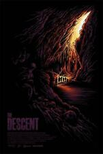 THE DESCENT VARIANT OFFICIAL LIMITED EDITION POSTER SCREEN PRINT BY DAN MUMFORD