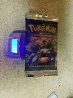 Pokemon Base Set Booster Pack WOTC 1999 Sealed Venusaur Heavy 21+ Grams