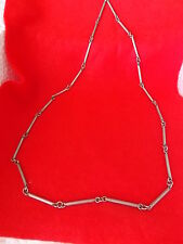 Vintage Antique Collectable Silver Necklace 69cm 30g 925 hallmarked (JAG)