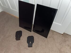 Dell S2340M LED LCD Monitor - Lot of 2 - perfect - clean - includes VESA Mounts