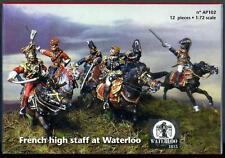Waterloo 1815 Miniatures 1/72 FRENCH HIGH STAFF AT WATERLOO Metal Figure Set