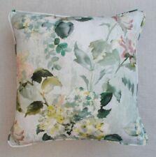 "Designers Guild Fabric Cushion Cover 'ADACHI - CELADON' - 18"" - 100% LINEN"