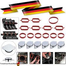 206x22mm Drallklappen für BMW M57 E39 46 87 90 Swirl Flaps Dichtung Ansaugbrücke