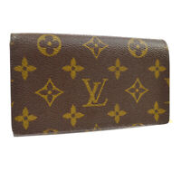 LOUIS VUITTON PORTE MONNAIE BILLETS TRESOR WALLET PURSE MONOGRAM M61730 L00727