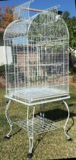 "65"" Bird Parrot Stand Cage For Cockatiel Cockatoo Caique Conure Finch Cockatiel"