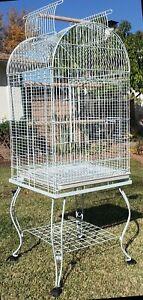"""64"""" Bird Parrot Stand Cage For Cockatiel Cockatoo Caique Conure Finch Cockatiel"""