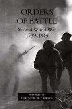 Orders of Battle: Second World War 1939-45 by H.F. Joslen (Paperback, 2003)